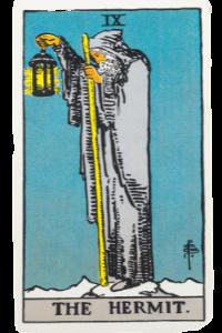 Der Eremit-Waite-Tarot