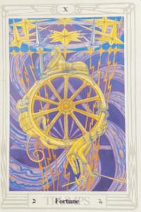 Aleister Crowley Tarot - Glück - Fortune