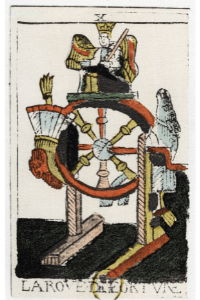 Altes Tarot - Fortuna