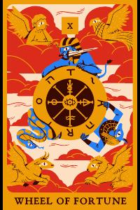 Das Rad des Schicksals im Tarot