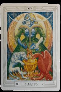 Die Kunst im Crowley Tarot