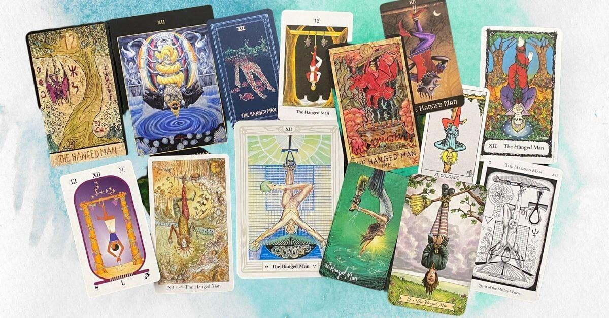 Der Gehängte im Tarot - The Hanged Man
