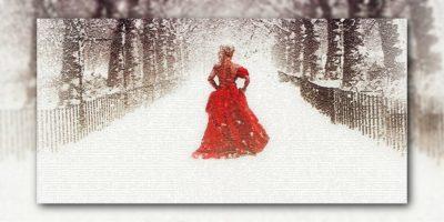 Sechste Rauhnacht: Frau auf der Brücke